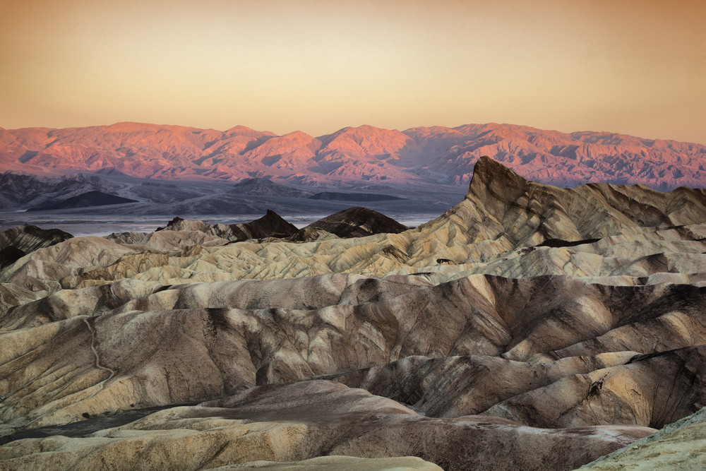 Sunrise at Zabrieskie Point.