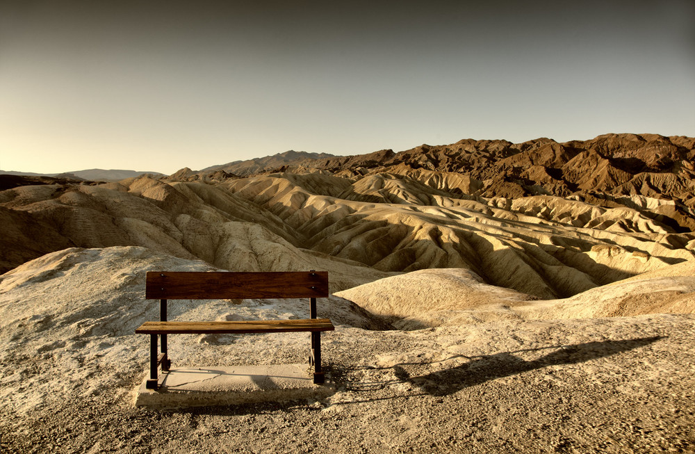 The Bench - at Death Valley.