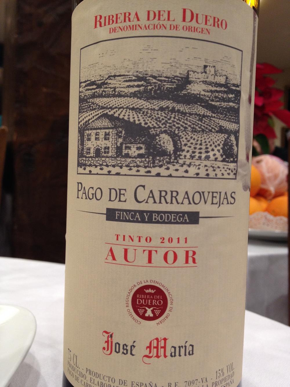 Wine from Restaurant Jose Mariarestaurantejosemaria.com