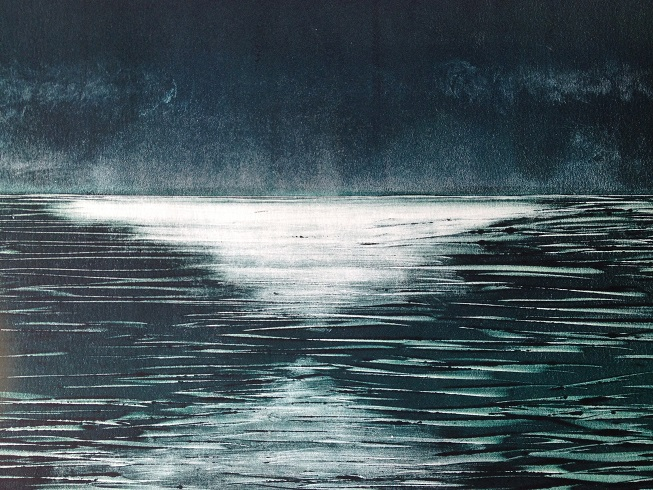 Mono type print, Robyn Mackay