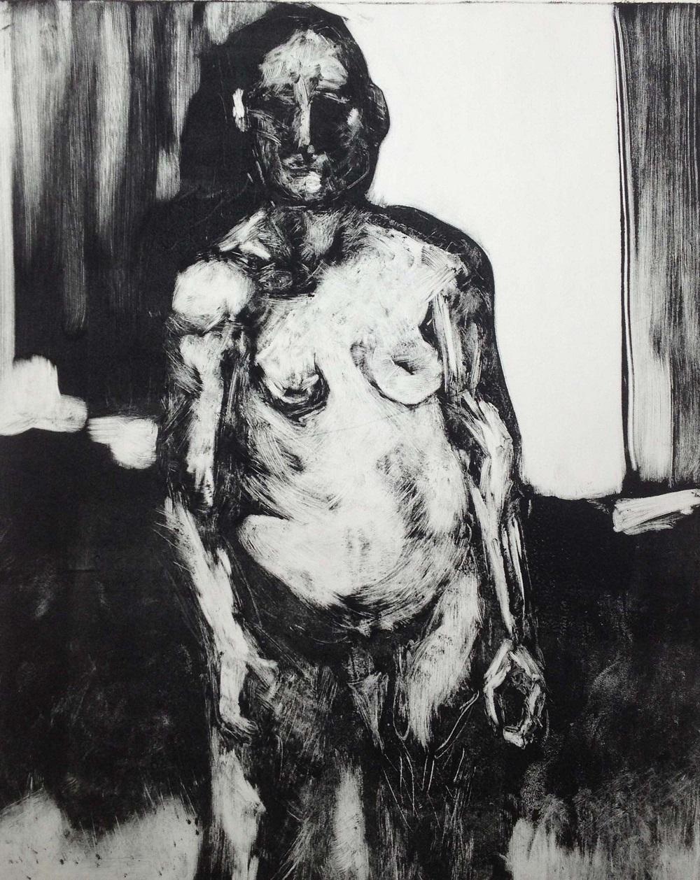 Mono print, Rachel Kirby