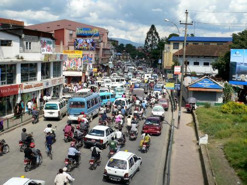 Crowded Traffic Jam Road In Kathmandu City Editorial Image - Image ...