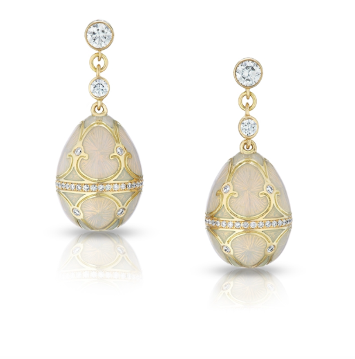 Palais Tsarskoye Selo Diamond Earrings