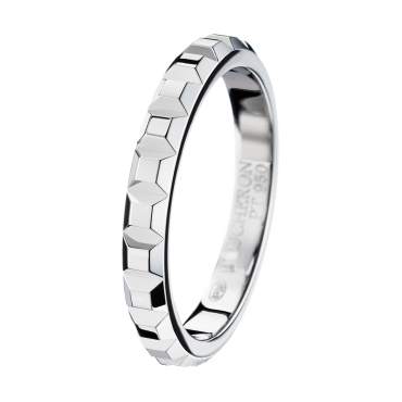 Clou de paris platinum wedding band vendome clou de paris platinum wedding band junglespirit Gallery