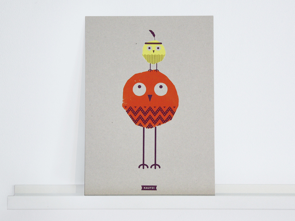 Gordon & Peter     Screen Print A4