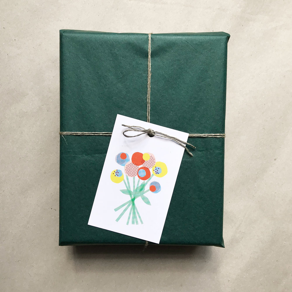 Gift Tag »Flowers«