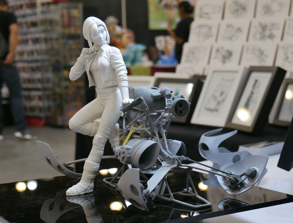 Release November 2017 - + 1/8 Scale+ Resin Cast~ 40 parts Hoverbike~ 7 parts Ryder Figure