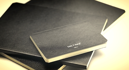 The Back To Paper softback notebooks by Brepols use excellent quality fountain  pen friendly paper.