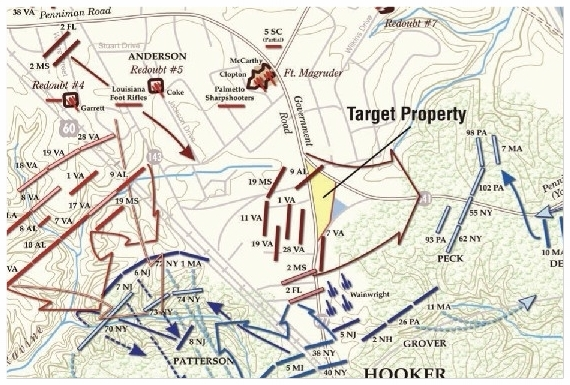Map Courtesy of the  Civil War Trust , www.civilwar.org