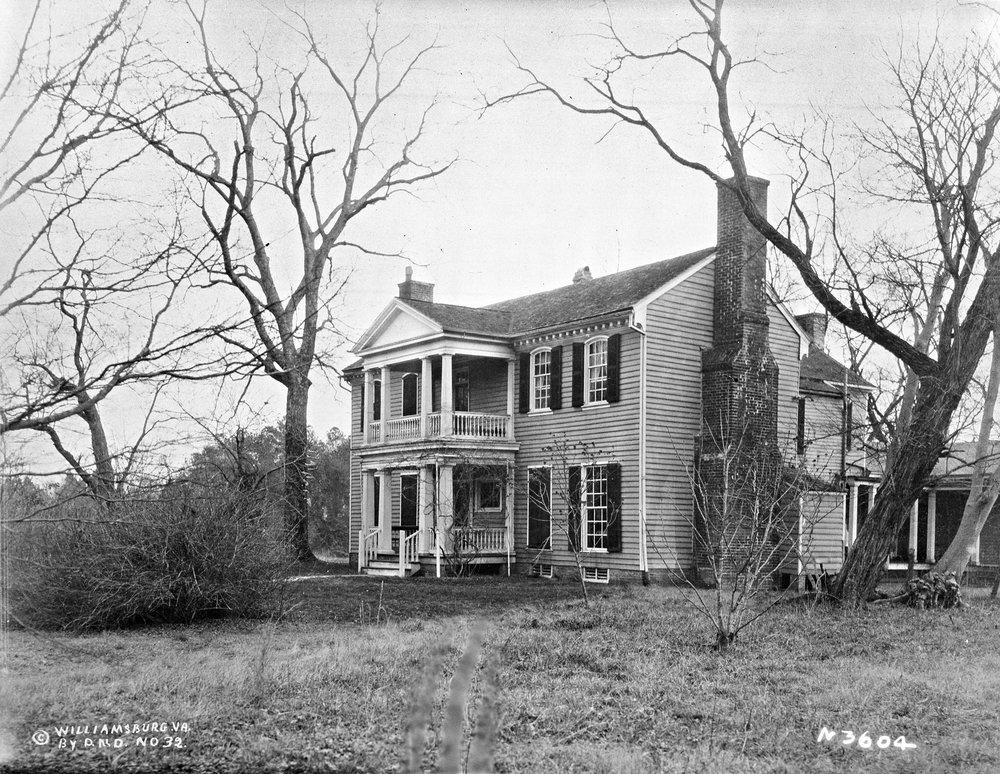 Col. Goodrich Durfey's home (present Bassett Hall), ca. 1928