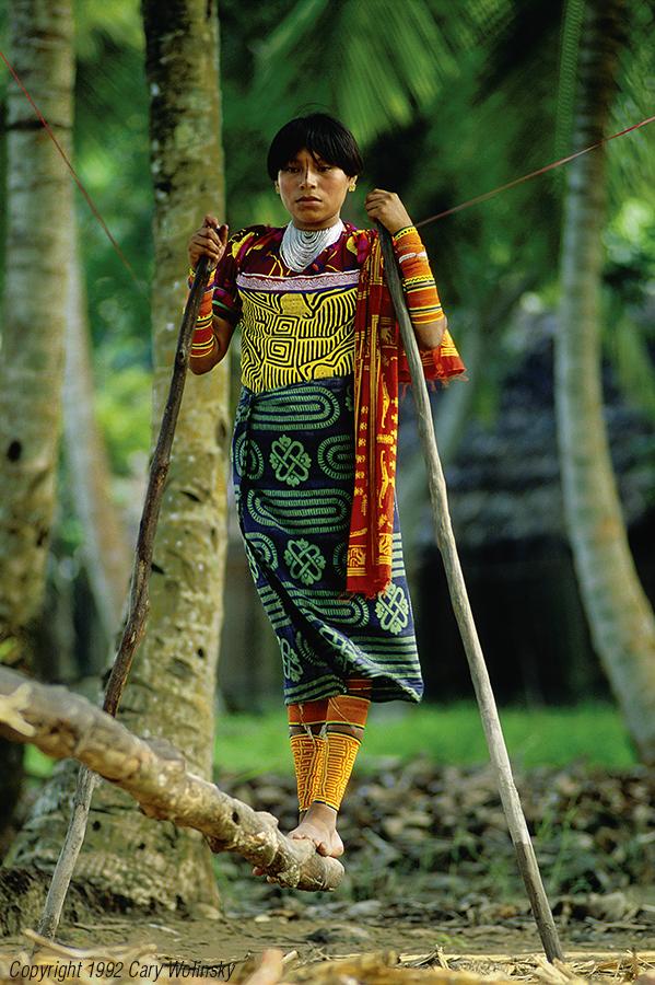 Cuna Woman