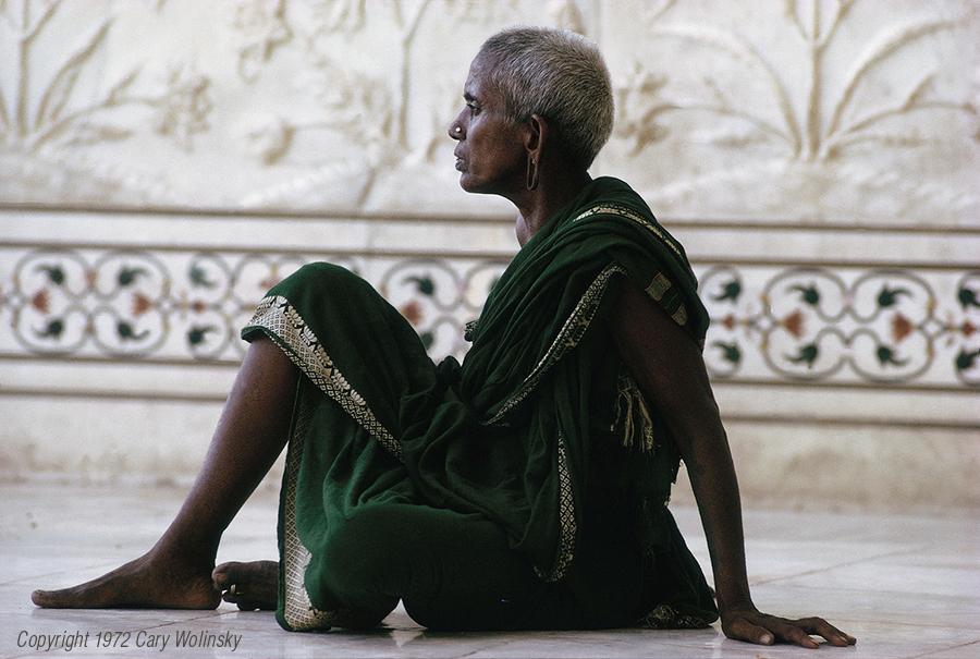 Taj Woman