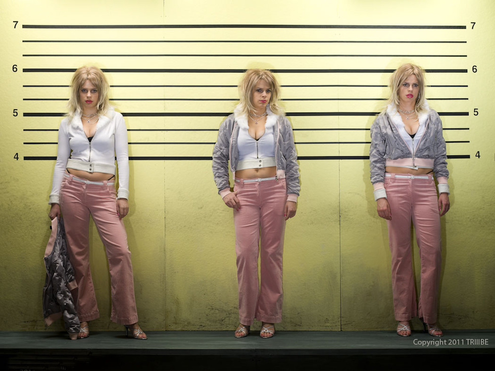 TRIIIBE creates the tableau called Triplet Crime.