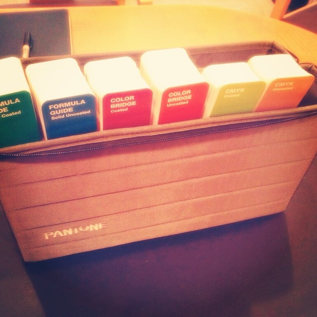 Brand new #pantone books in the house!
