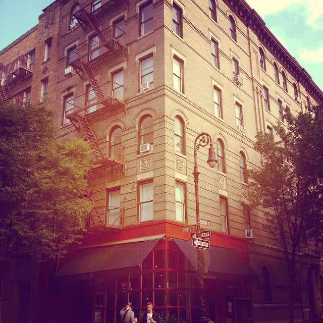 Ah, the old #Friends building... So cute! #westvillage #grovestreet #nyc