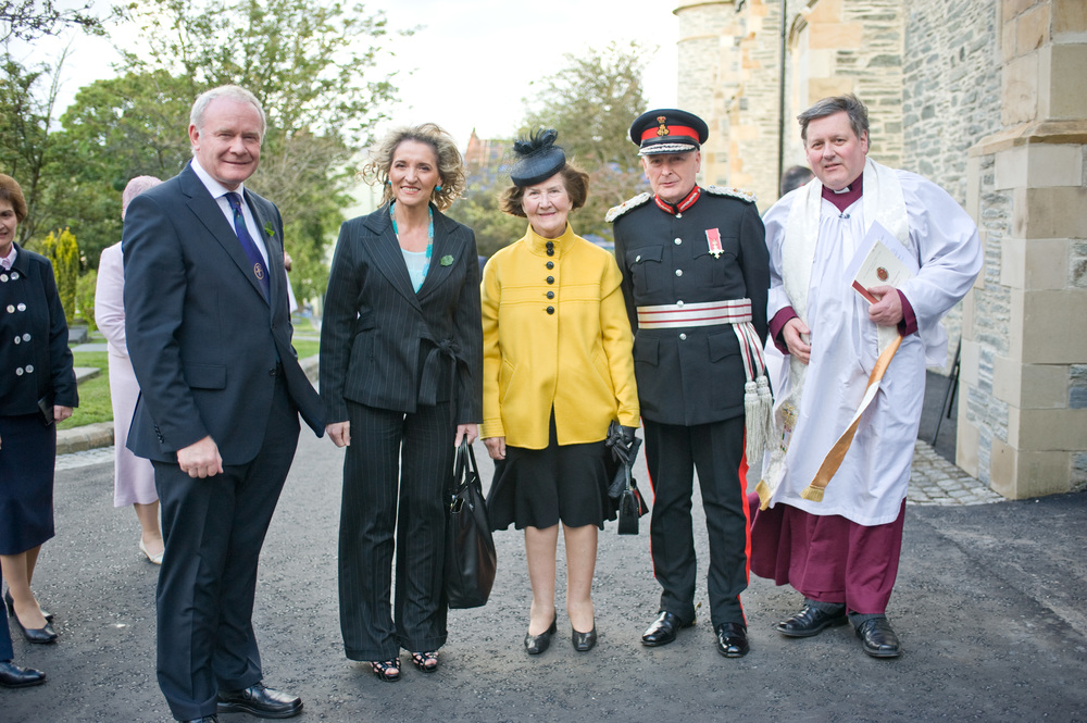 VIPs Attend St Columb's Dedication - following multi million refurbishment