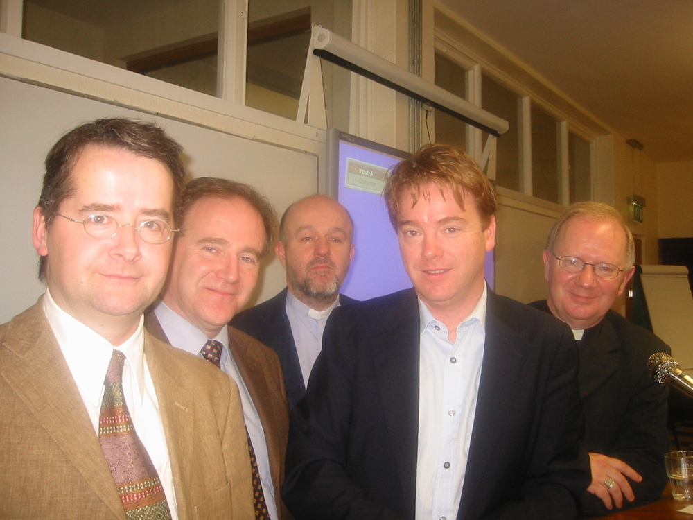 Patsy McGarry (Irish Times) & David McWilliams speak at Hard Gospel Project conference