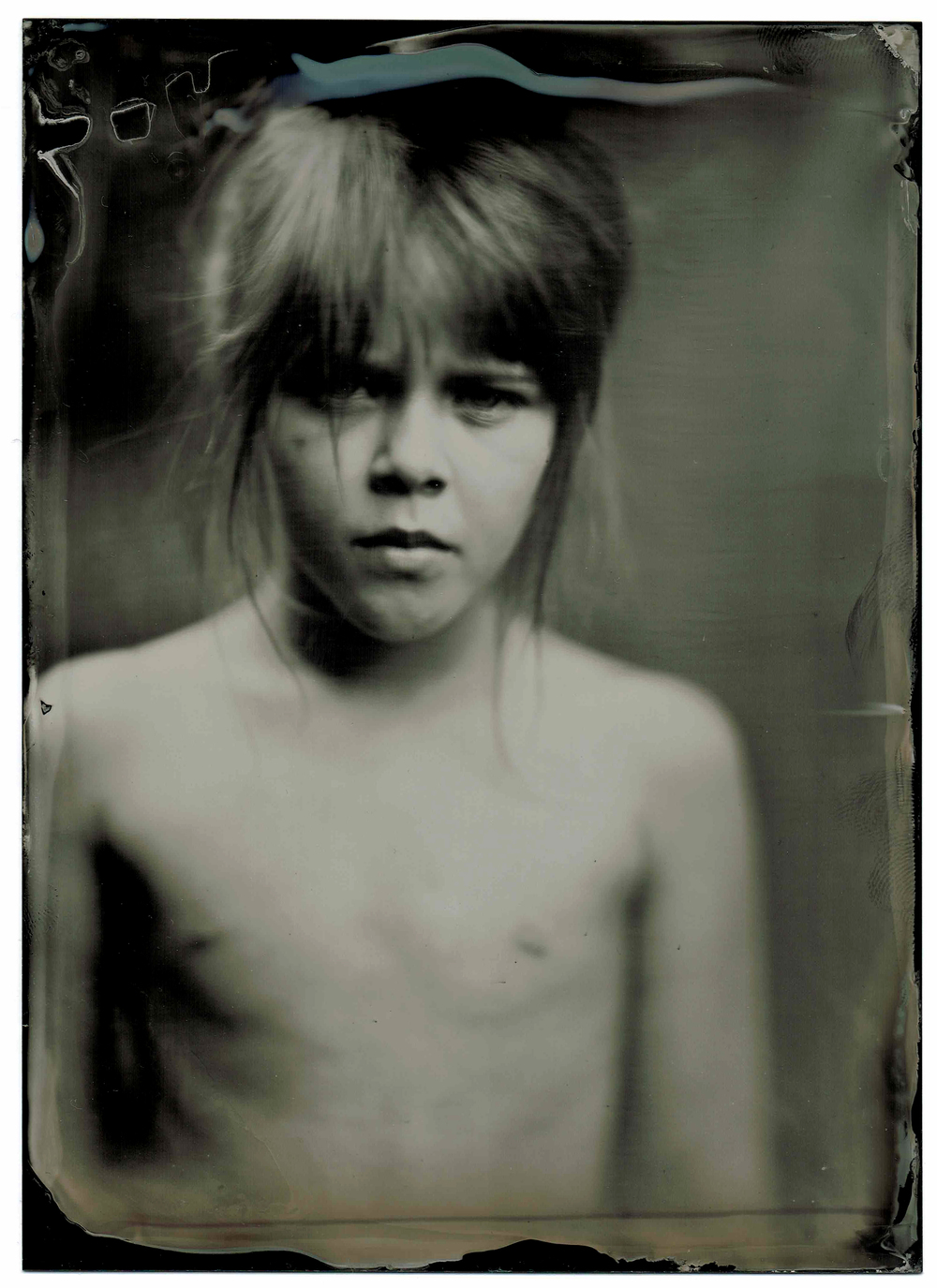 Lilou / wet plate