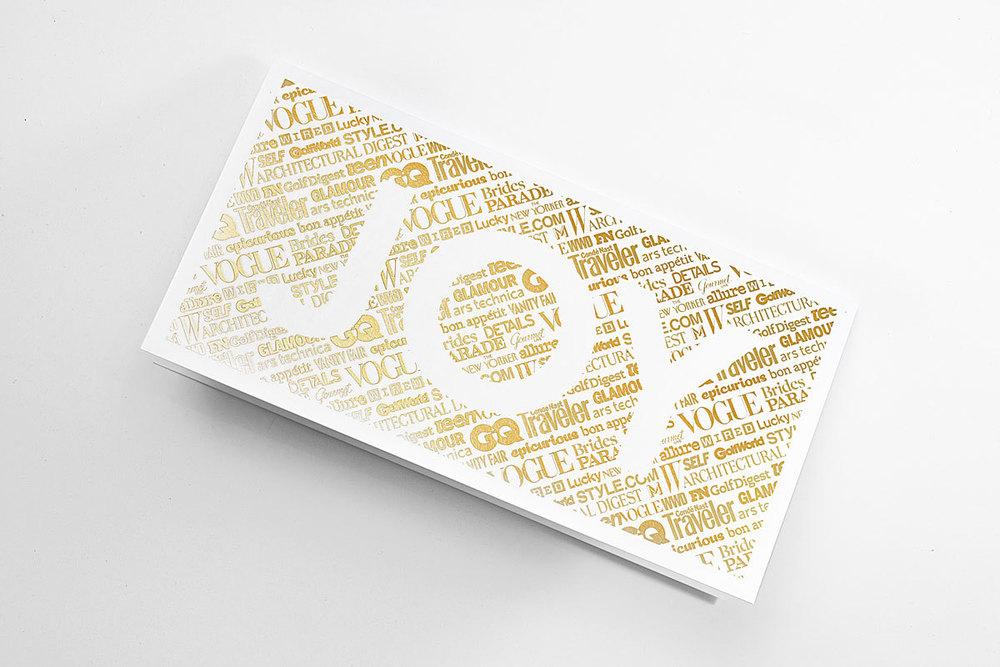 2012 Condé Nast Holiday Card Design