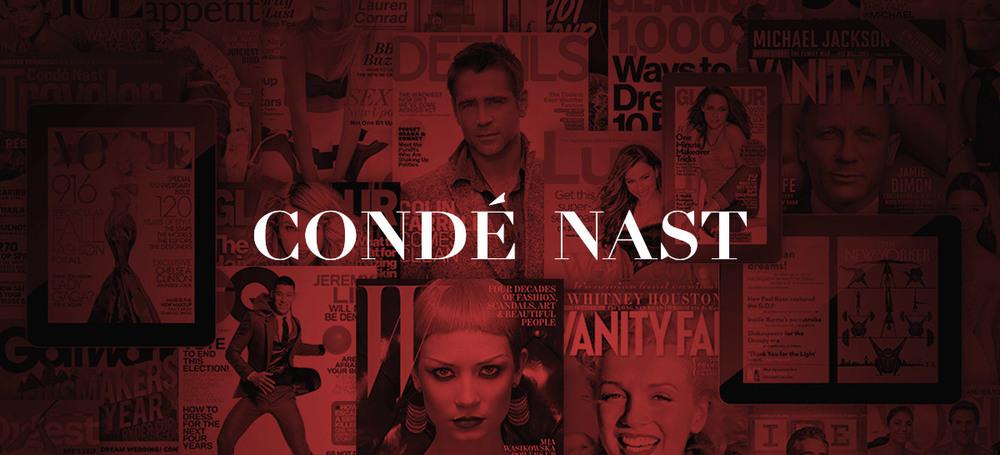 Condé Nast Website Intro Banner Design