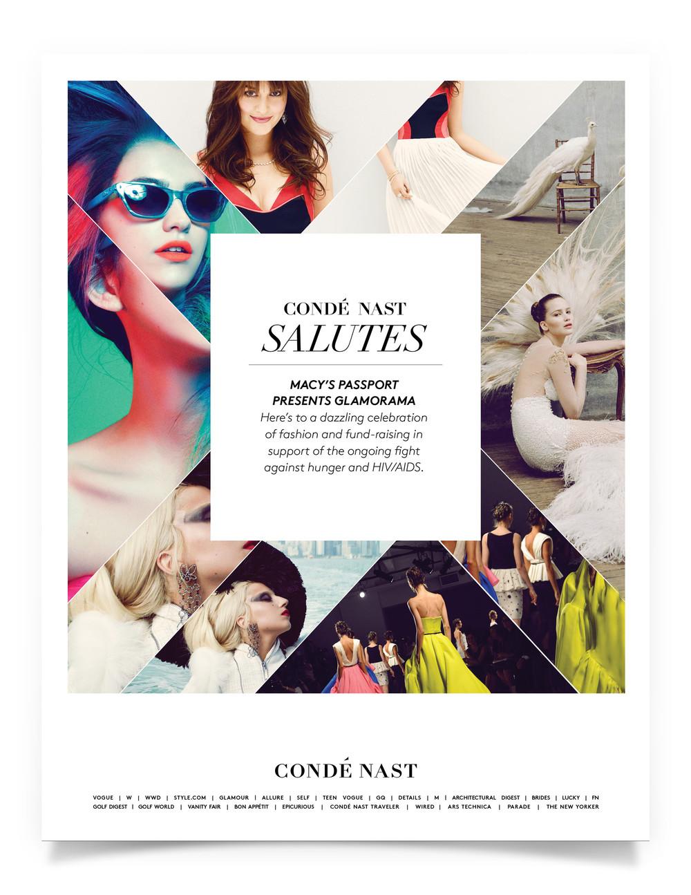 Condé Nast Journal Ad Design