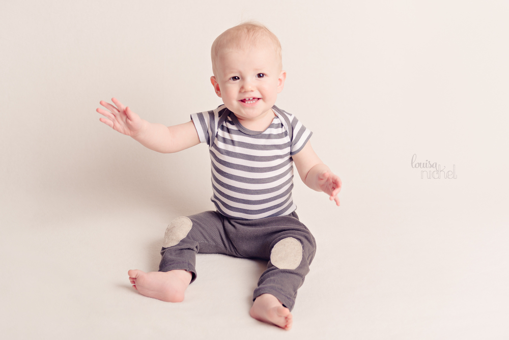 DIY leggings - baby boy - sitter session - Louisa Nickel Photography