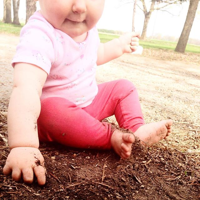 who needs a nap when there's dirt to tend to.