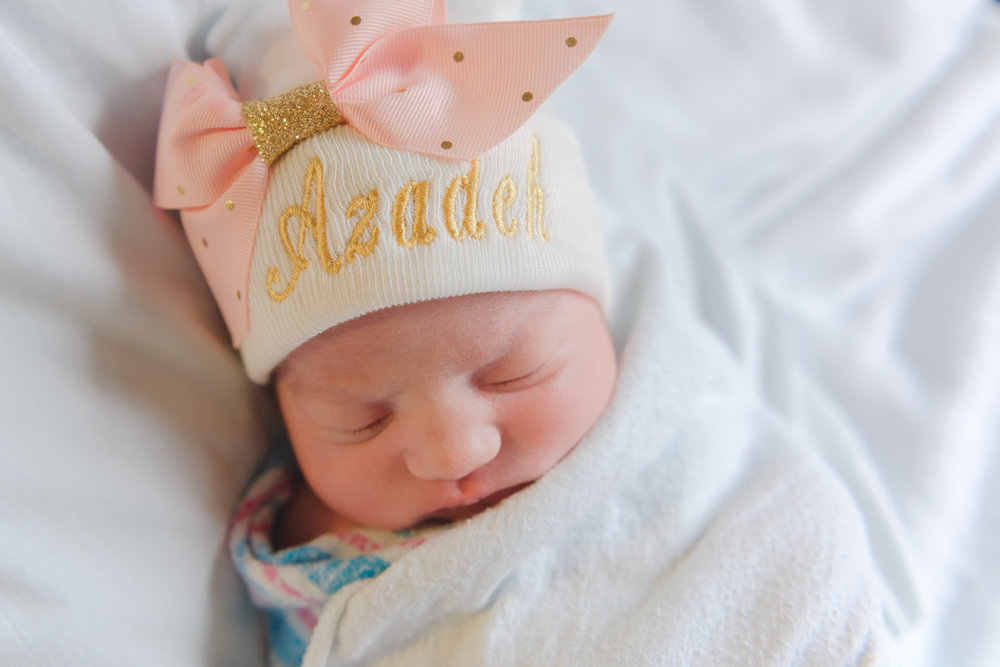 newborn girl hospital session | Rockford Memorial | Louisa Nickel Photography -7.jpg