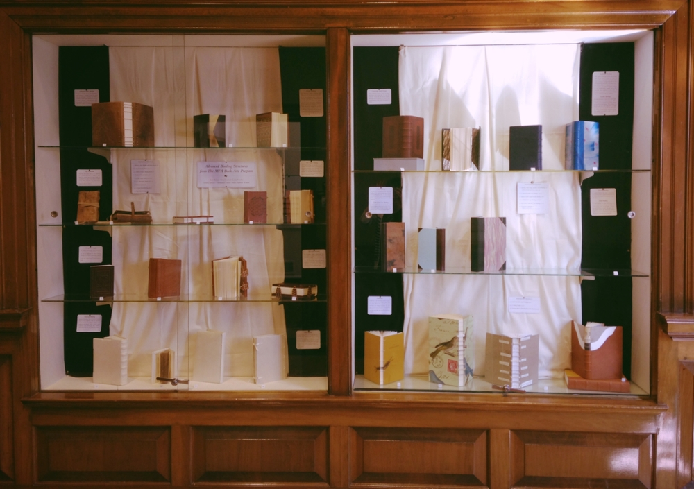 Advanced Binding Structures from The MFA in the Book Arts Program, Gorgas Library
