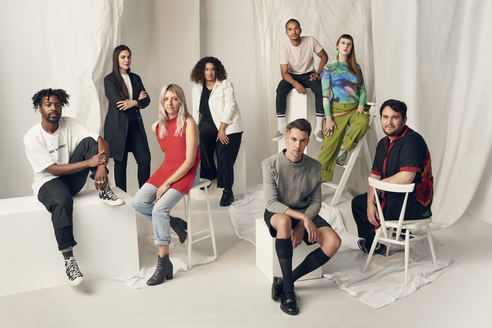 The eight emerging House of Peroni designers