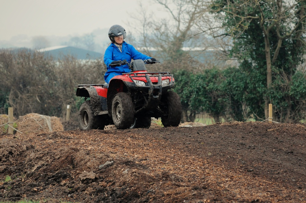 Quad Bike day out at Tile Farm Off Road