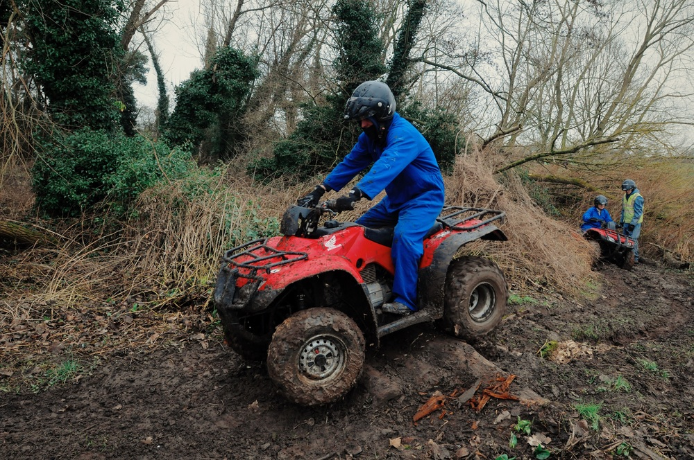 Off Road Obstacles Woodland Trek