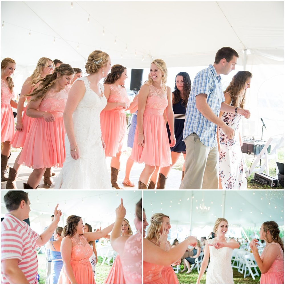 Strasburg farm wedding reception details Lancaster county PA photo