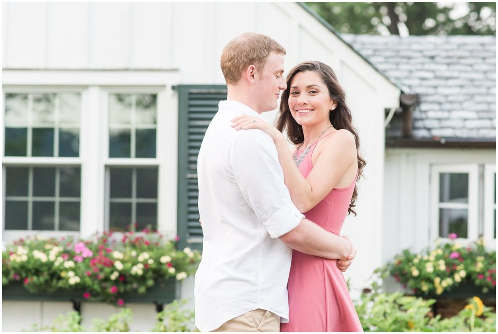 Romantic engagement session Drumore Estat