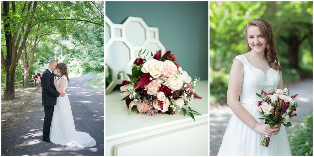 Lancaster wedding photography hollinger house bed and breakfast blush and ivory wedding photo