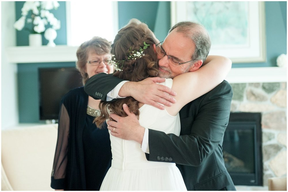 Lancaster pa Wedding Day father of the bride  reveal photography photo