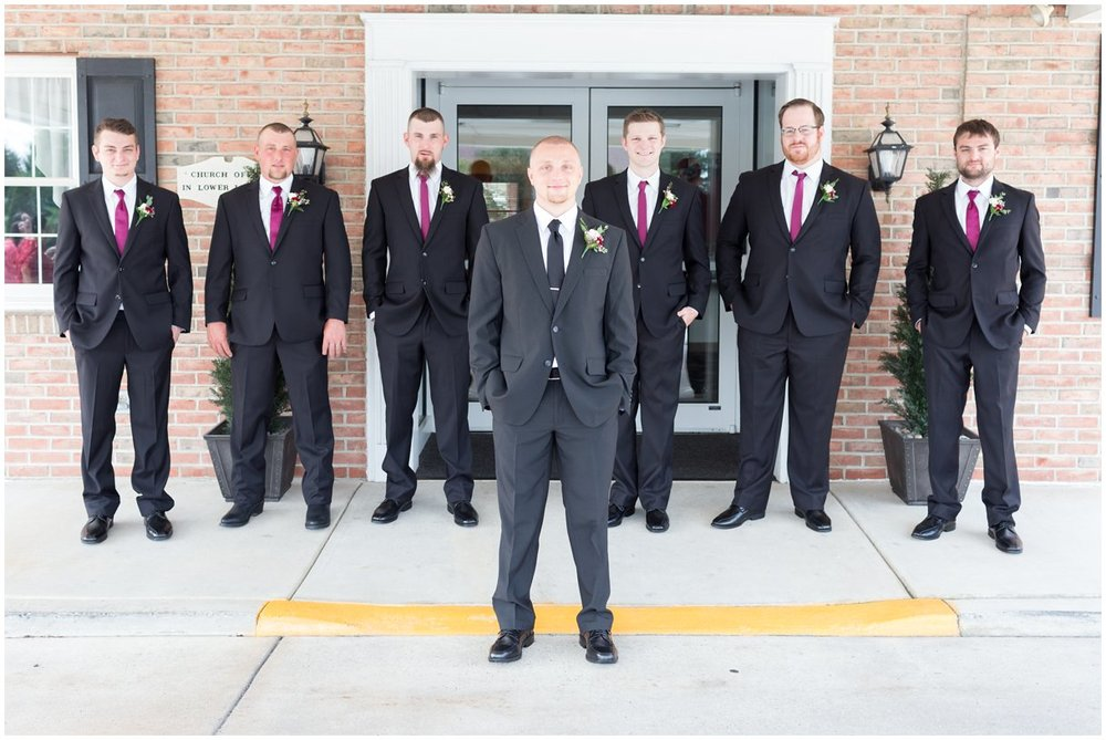 Lancaster pa Wedding Day Groomsmen  photography photo