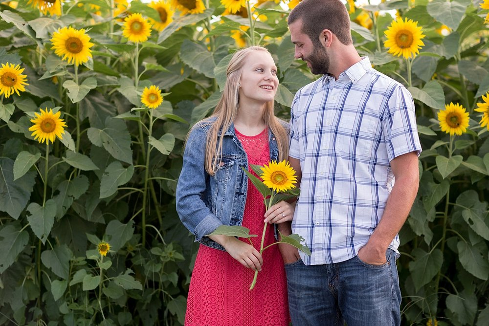 Romantic engagement session in sunflower field lancaster pa wedding photographer photo_0002.jpg