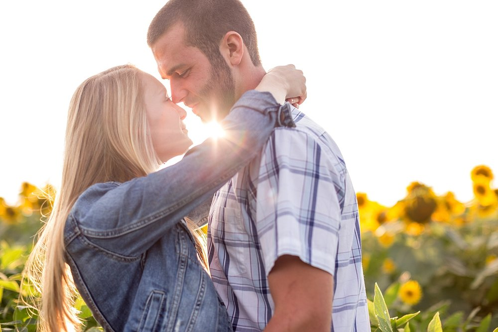 Romantic engagement session in sunflower field lancaster pa wedding photographer photo_0009.jpg