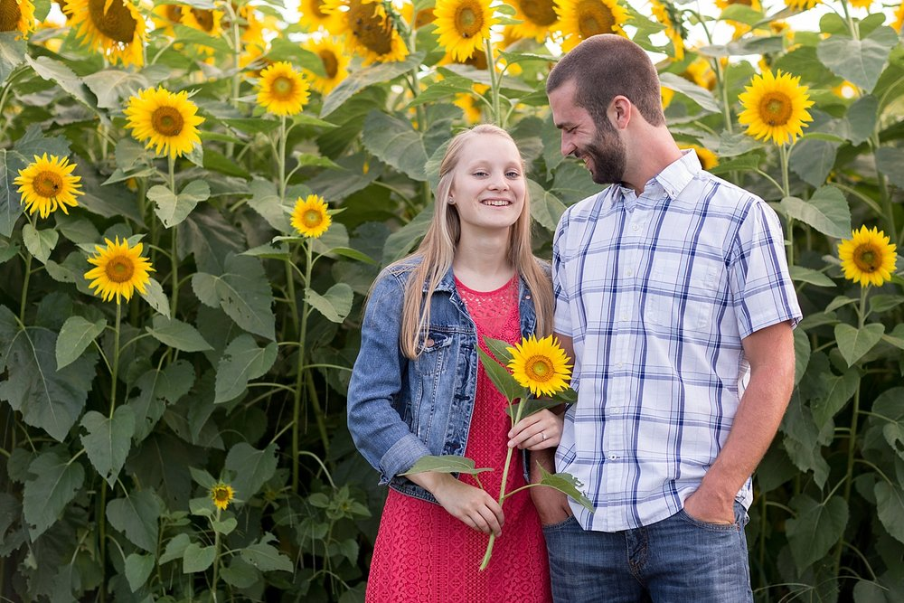 Romantic engagement session in sunflower field lancaster pa wedding photographer photo_0037.jpg