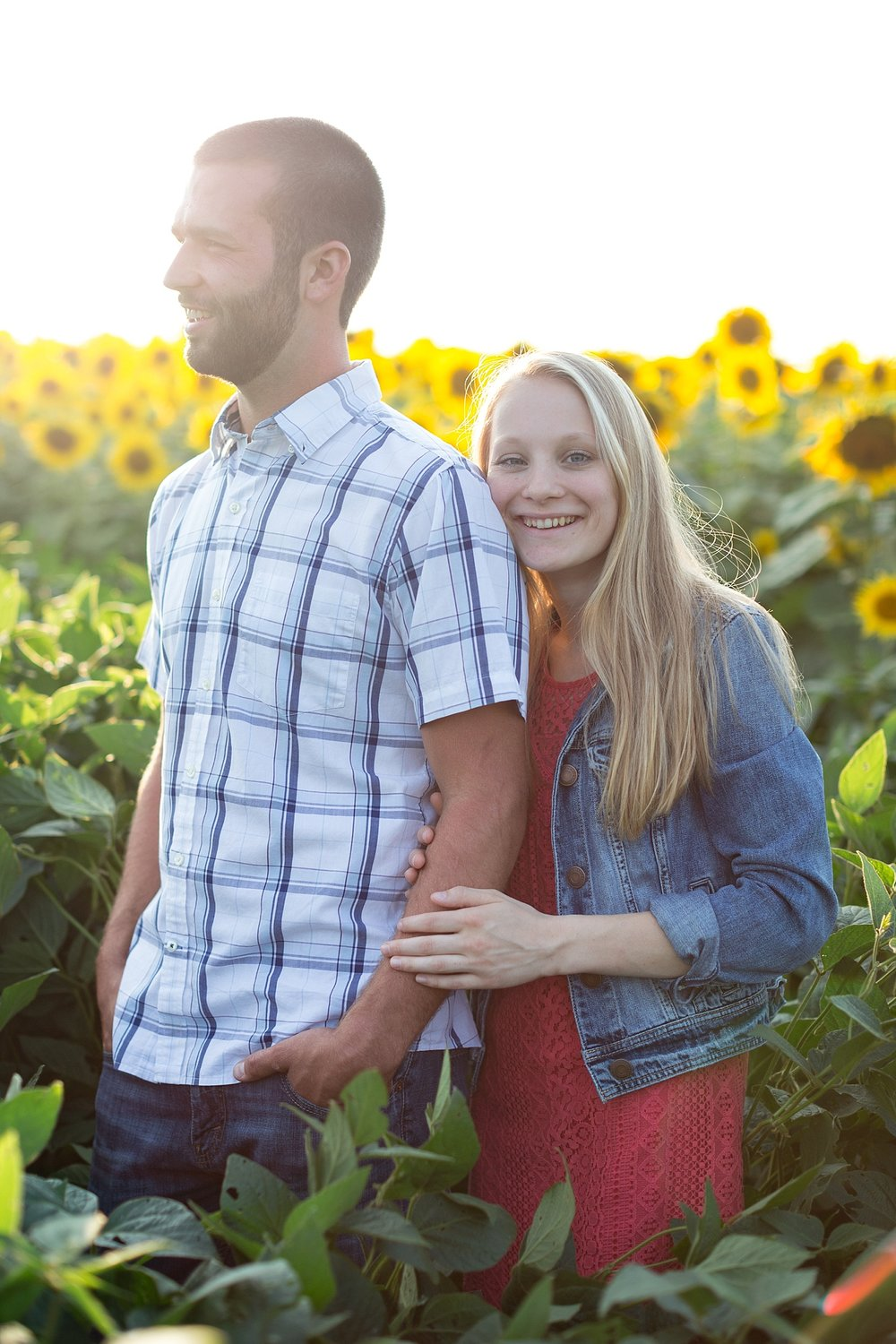 Romantic engagement session in sunflower field lancaster pa wedding photographer photo_0012.jpg