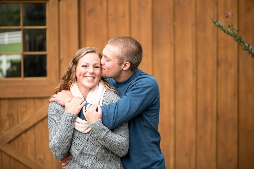 Shallowbrook farm Lancaster Pa engagement session in fall wedding photographer photo