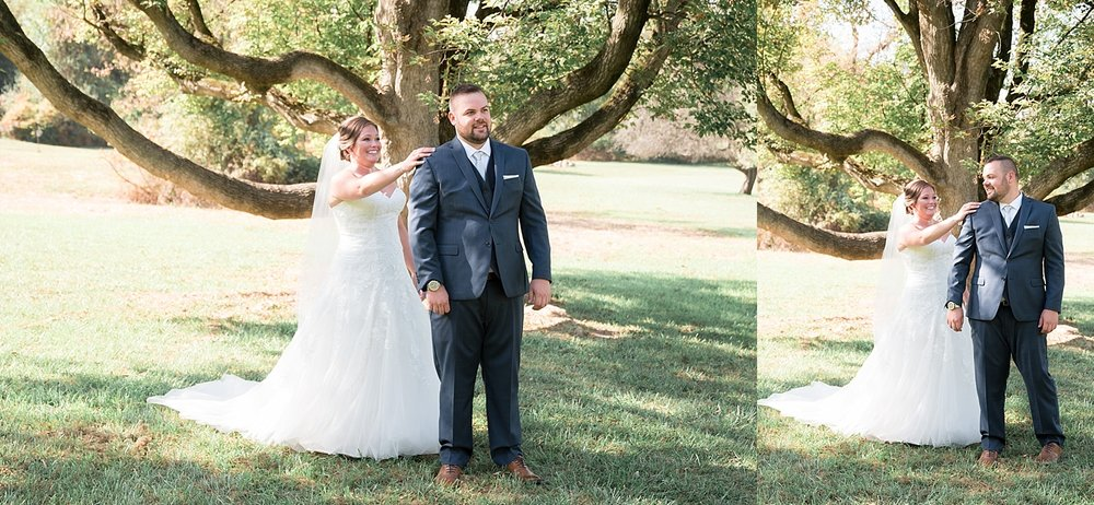 Historic Rockford Plantation wedding celebration in the meadow Lancaster Wedding photographer photo