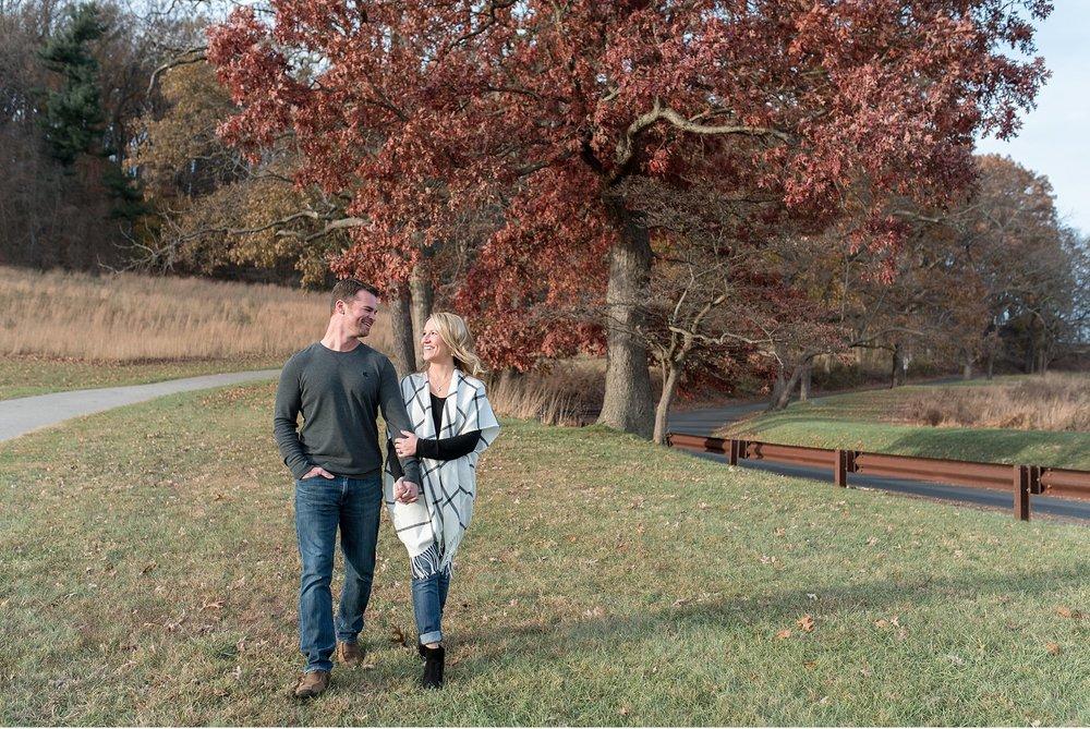 Valley Forge Park engagement session Philadelphia wedding photographer photo