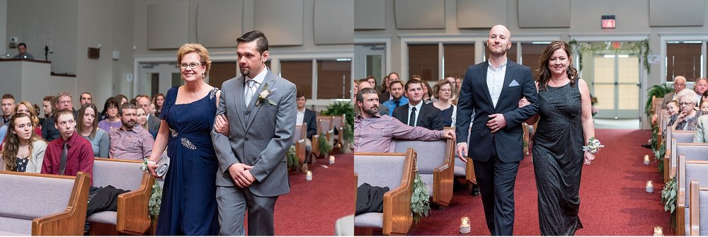 Christian Fellowship Church wedding ceremony photography photo