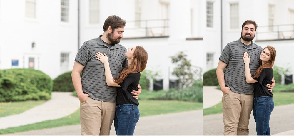Rainy spring engagement session Gettysburg College Campus Wedding Photography Photo_1489.jpg