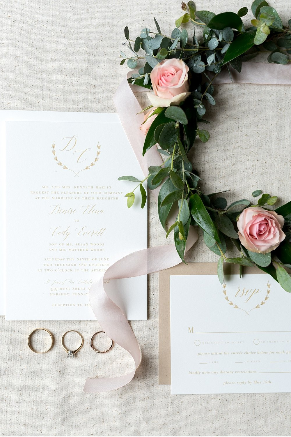 Invitation suite and floral details Hershey Gardens Hershey Country Club Summer beautiful wedding photography_1538.jpg