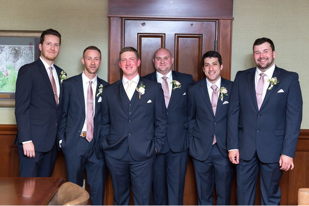 Groomsmen Hershey Gardens Hershey Country Club Summer beautiful wedding photography