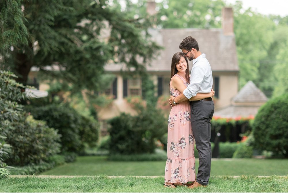 bride-and-groom-engagement-The-Conestoga-House-and-Gardens-Summer-Wedding-Photography