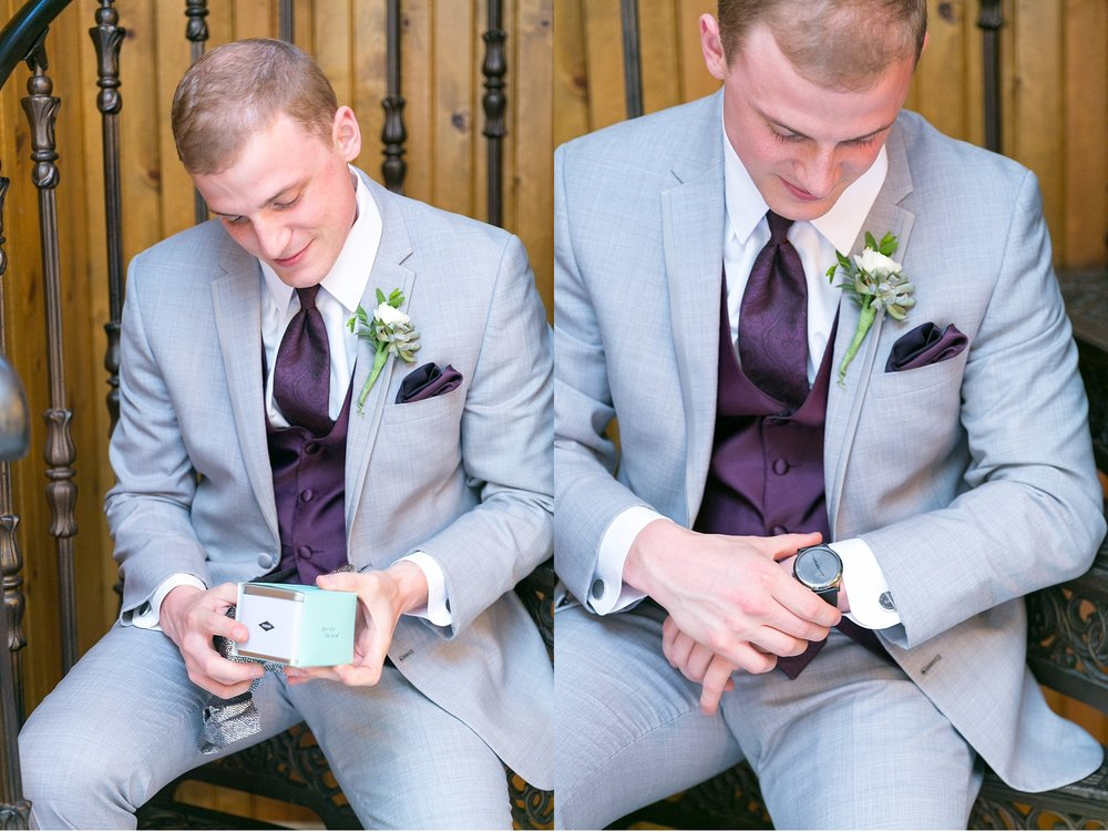 Groom gift Moonstone Manor Elizabethtown PA purple and grey wedding photography photo_1778.jpg